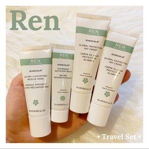 Ren Clean Skincare Evercalm Travel Set